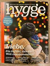 hygge No. 21 Liebe Zeitschrift Vom Glück das Leben zu teilen
