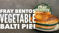 L@@K x5 Fray Bentos VEGETABLE BALTI Pies - 425g Prepper Long Life !!!