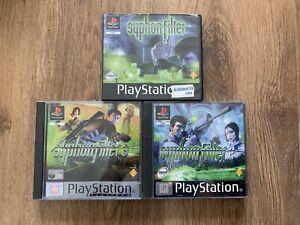 Syphon filter 1 2 & 3 - PS1 Sony Playstation 1 PAL Manuals