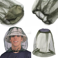 Camping Hunting Fishing Mosquito Insect Hat Mesh Net Mask Head Face Protector