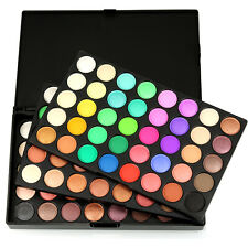 120 Color Professional Matte Shimmer Eyeshadow Palette Makeup Set for Women Girl