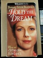 Hold the Dream (VHS, 2000, 3-Tape Set)