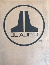 "JL AUDIO CP106LG-W3v3 6-1/2""  Microsub Slot-Ported Enclosure Loaded Sub Box New"