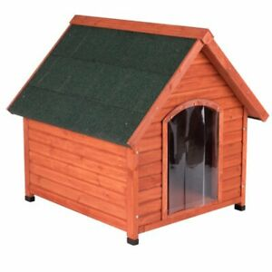 Dog Kennel For All Seasons Pitched Roof Polystyrene Insulation Plastic Door