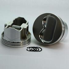 """DSS Piston Set 2-6103-4120; 4.120"""" Bore -14cc Dish for 1967-1976 Pontiac 400 V8"""