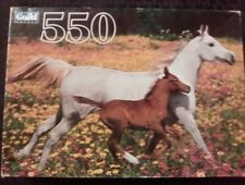 New in original package Vintage Guild Mare and Foal 550 piece puzzle