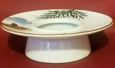 """Asian Porcelain Fujita Kutani Ashtray 6.5"""" Diameter"""