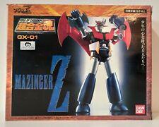 SOC Soul Of Chogokin GX-01 Mazinger Z Mazinga Z Bandai 1997 1 ed. testa morbida