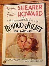ROMEO AND JULIET DVD LIKE NEW Norma Shearer and Leslie Howard FREE SHIP