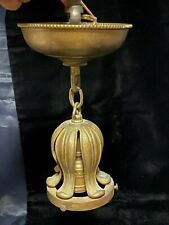 New listing Antique Vintage Brass Lamp Shade Fixture Holder
