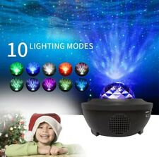 Sternenhimmel Lampe LED Projektor Nachtlicht RGBW Bluetooth Musik Fernbedienung