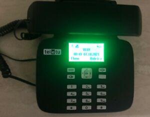 Telefono Fisso Con SIM CARD Teletù Classic - funziona con qualsiasi SIM !!!