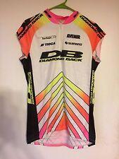 Diamondback Racing DBR Mountain Bike Jersey - Large - Cut Off Sleeves Rad Retro