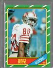 1986 Topps Jerry Rice Rc #161