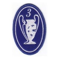 [Patch] CHAMPIONS LEAGUE numero 3 replica cm 5 x 7,5 toppa ricamata ricamo -185