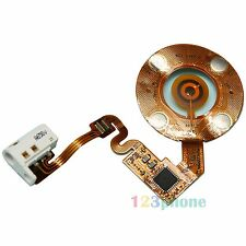 CLICK WHEEL + EARPHONE AUDIO JACK FLEX CABLE FOR IPOD NANO 2 2ND GEN #WHITE