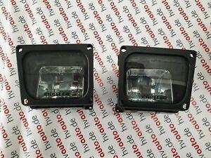 Lancia Delta Integral Evo Fog Lights Pair Foglights Fari Cheese Carello