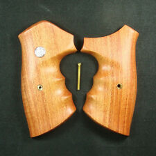 NEW WOODEN ROSEWOOD GRIPS SMITH&WESSON REVOLVERS N FRAME , SQUARE BUTT #SWN-131