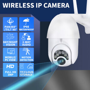 Security Camera  Wireless System CCTV 1080P Home Waterproof Outdoor Night Vision
