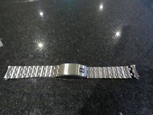 Vintage Tissot Stelux  Stainless Steel Metal Watch Wristwatch Bracelet Band 18mm