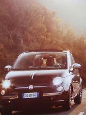 Fiat 500 by Gucci Prospekt Brochure Katalog Catalogue +Zubehör +Preisliste