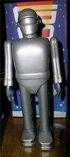"""Gort 9"""" Wind-up Tin Robot Toy Rocket USA 2000 Day The Earth Stood Still 1951"""