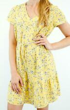 Vestido De Verano BNWT Jack Wills Floral Bonita Amarillo surgidas RRP £ 69.95 ahora £ 19.95