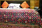 Kutch Banjara Antique Huge Masterpiece Hand Embroidered Tapestry Mirror Heavy