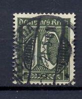 DR 159 b Freimarke 10 Pfg. schwarzoliv gestempelt tiefst geprüft (kr128)