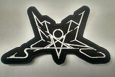 SUMMONING Embroidered Patch IRON/SEW ON USA Seller FAST DELIVERYwhite