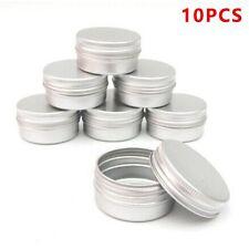 10Stk Blechdosen Aluminium Leer Döschen Creme Dosen Tiegel Für Kosmetikum