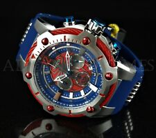 Invicta 52mm Bolt MARVEL Spider-Man Chronograph Limited Edition Blue & Red Watch