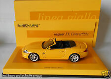 Jaguar XK Convertible 2005 Yellow Minichamps 1/43 Mint & Boxed Limited 2009