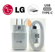 New OEM ORIGINAL LG Rapid Fast Wall Charger + Type C Cable For LG V20 G6 G5 V30
