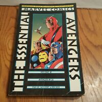 Essential Avengers Vol. 1 Lee Kirby Heck Wood