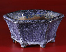 Yoshimura,Tokoname bonsai pot- Artist - Masters Susumu, Hidemi Kataoka