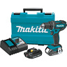 "Makita XFD10R 18V LXT® Lithium‑Ion Compact Cordless 1/2"" Driver‑Drill Kit, 2.0Ah"