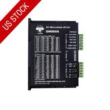 US STOCK!Nema34 Stepper motor driver controller DM860A 7.8A 256micsteps 24~80VDC