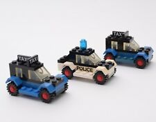 Vintage Lego Police Car and Taxis 608 1979