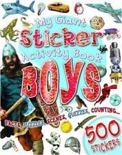 My Giant Sticker Activity Book Boys