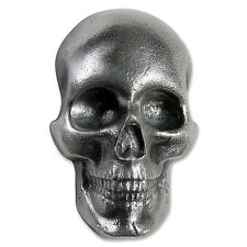 10 oz Silver - MK Barz & Bullion (Limited Edition, 3D Skull) - SKU #104477