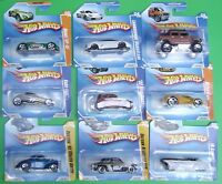 Vintage 2009 Hot Wheels Cars on short cards (Your Choice)