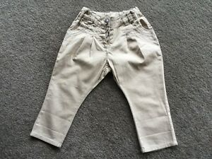 target adjustable brown pants size 2 as new