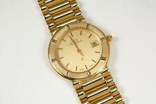 Goldene Uhr, 105 Gramm schwer, Gold 585 Deutsches Fabrikat. Schweizer Werk