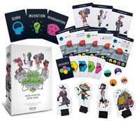Mad Science Foundation Board Game  Cryptozoic Entertainment