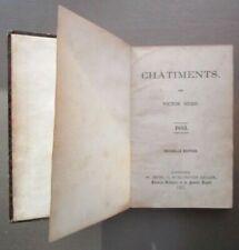 Livres anciens et de collection xixème Victor Hugo, sur poésie