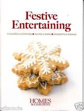 Festive Entertaining by Homes & Gardens UK (Paperback, December 2008)