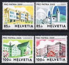 SWITZERLAND MNH 2005 SG1638-41 Pro Patria,Buildings