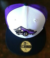 NEW ERA Fresno Grizzlies LOWRIDERS 59FIFTY size 7 1/8 fitted cap hat MiLB minors