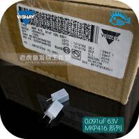 10/100pcs 0.091uF 63V MKP416 BC VISHAY Non-polar Film Capacitor